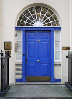 Bloomsbury Door